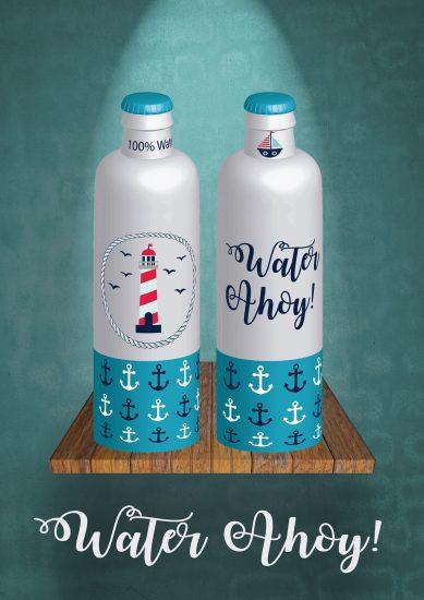 Water Ahoy!!!!!!!!, un agua muy marinera. Propuesta de nuestra alumna Ana Arnal Argón