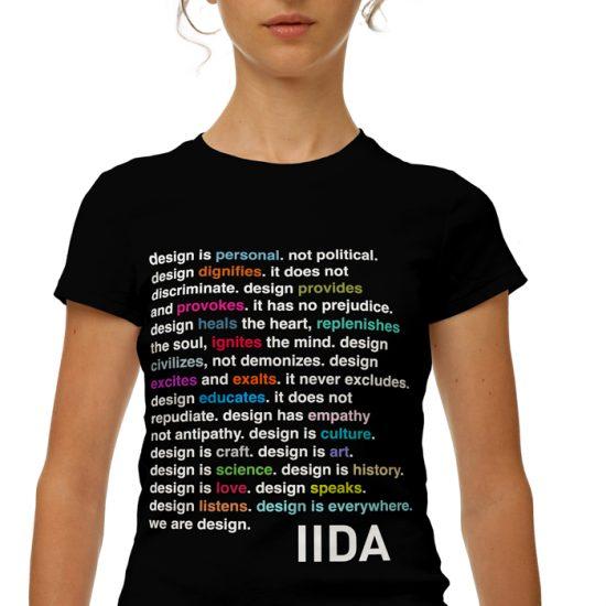 Camiseta de la campaña de IIDA