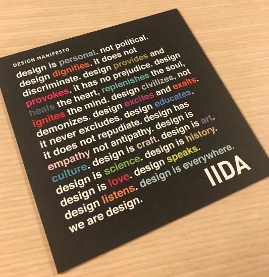 Manifiesto de diseño IIDA