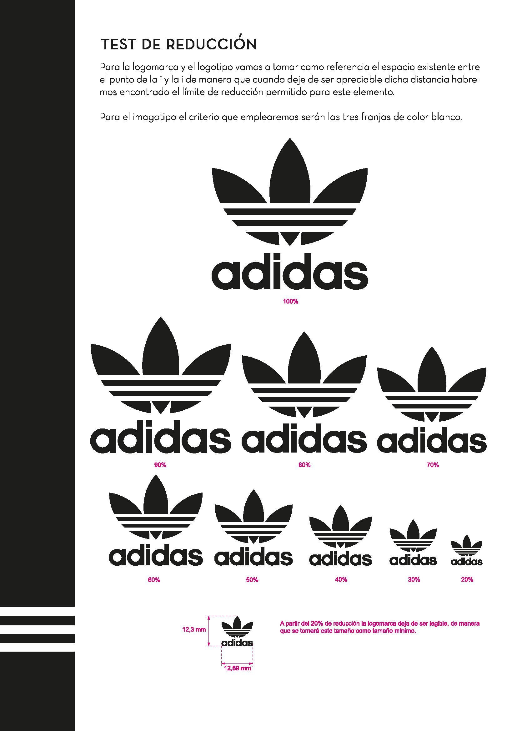 Reducción de la logomarca