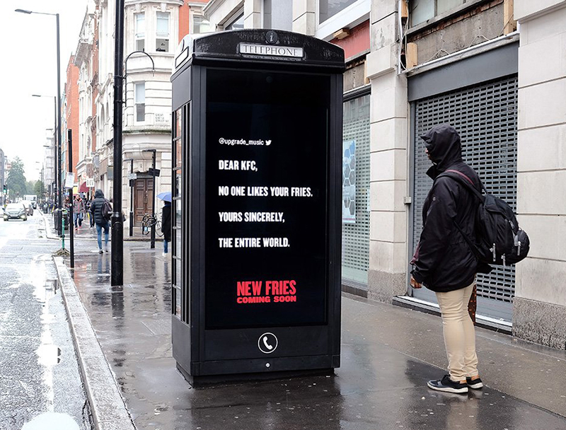 Campaña KFC