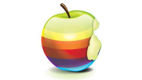 ¿Puede volver el logotipo «vintage» de Apple?