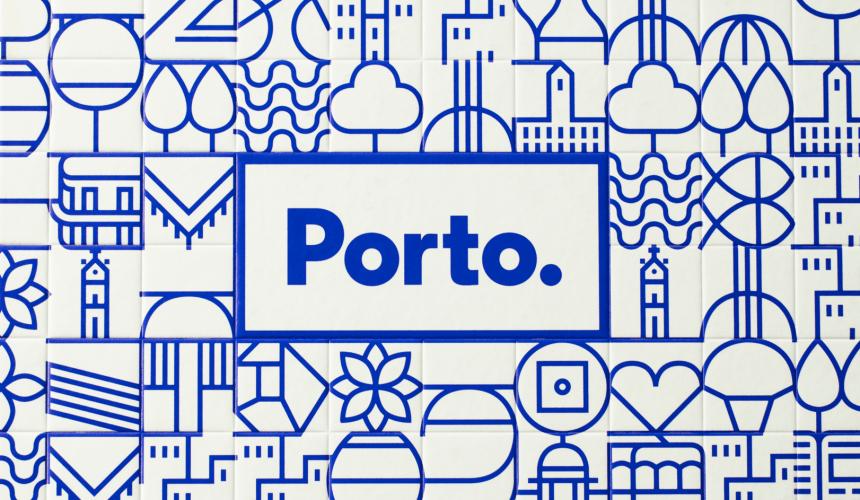 En junio de 2014, White Studio fue invitado a diseñar la nueva identidad para la ciudad de Oporto y su ayuntamiento.