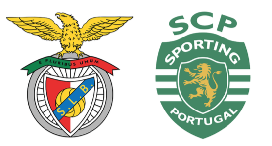 Sporting y Benfica son conocidos como Leões (leones) y Águias (águilas), respectivamente.