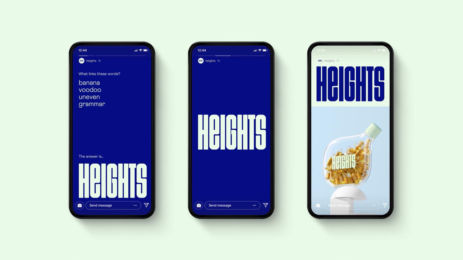 Heights, aplicación móvil