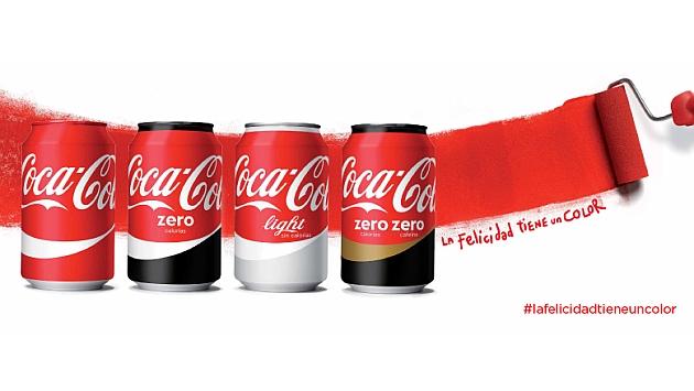La felicidad tiene un color, Coca-Cola