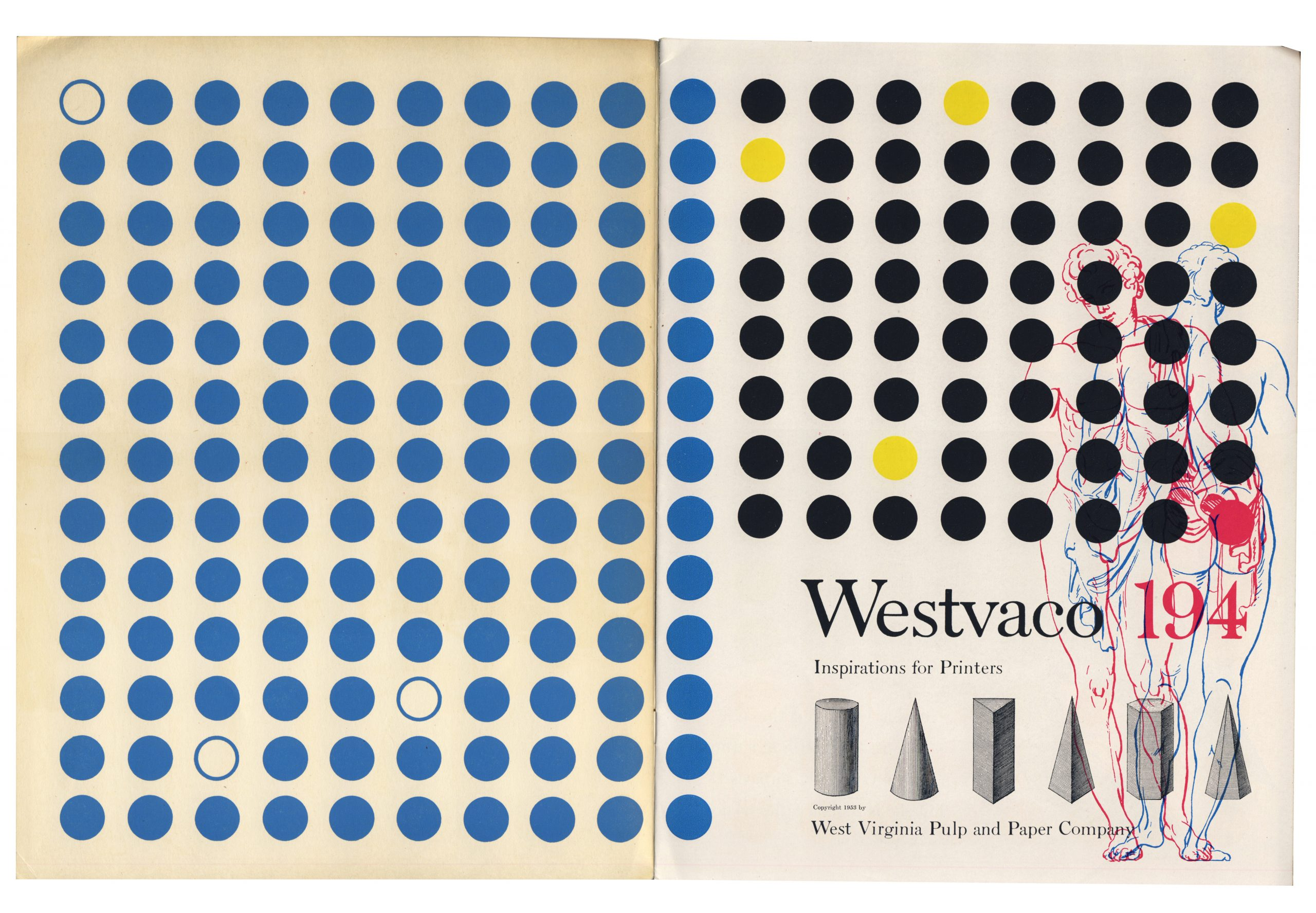 Westvaco Inspiration for Printers Nº 194, 1953