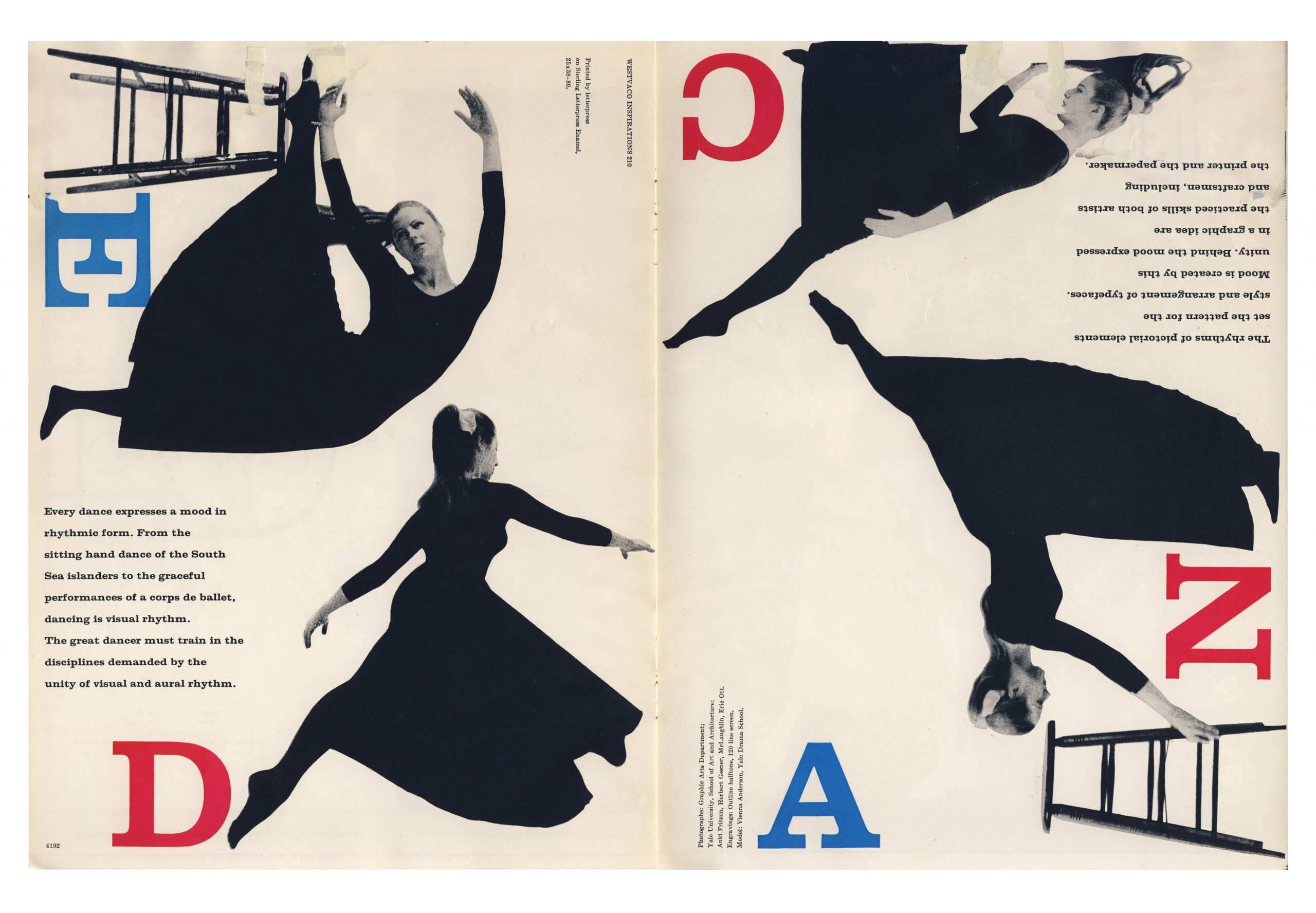 Westvaco Inspiration for Printers Nº 210, 1958