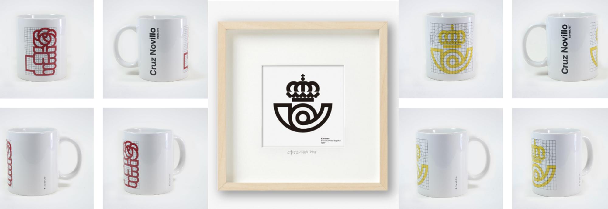 PSOE y Correos, dos logotipos icónicos de Cruz Novillo
