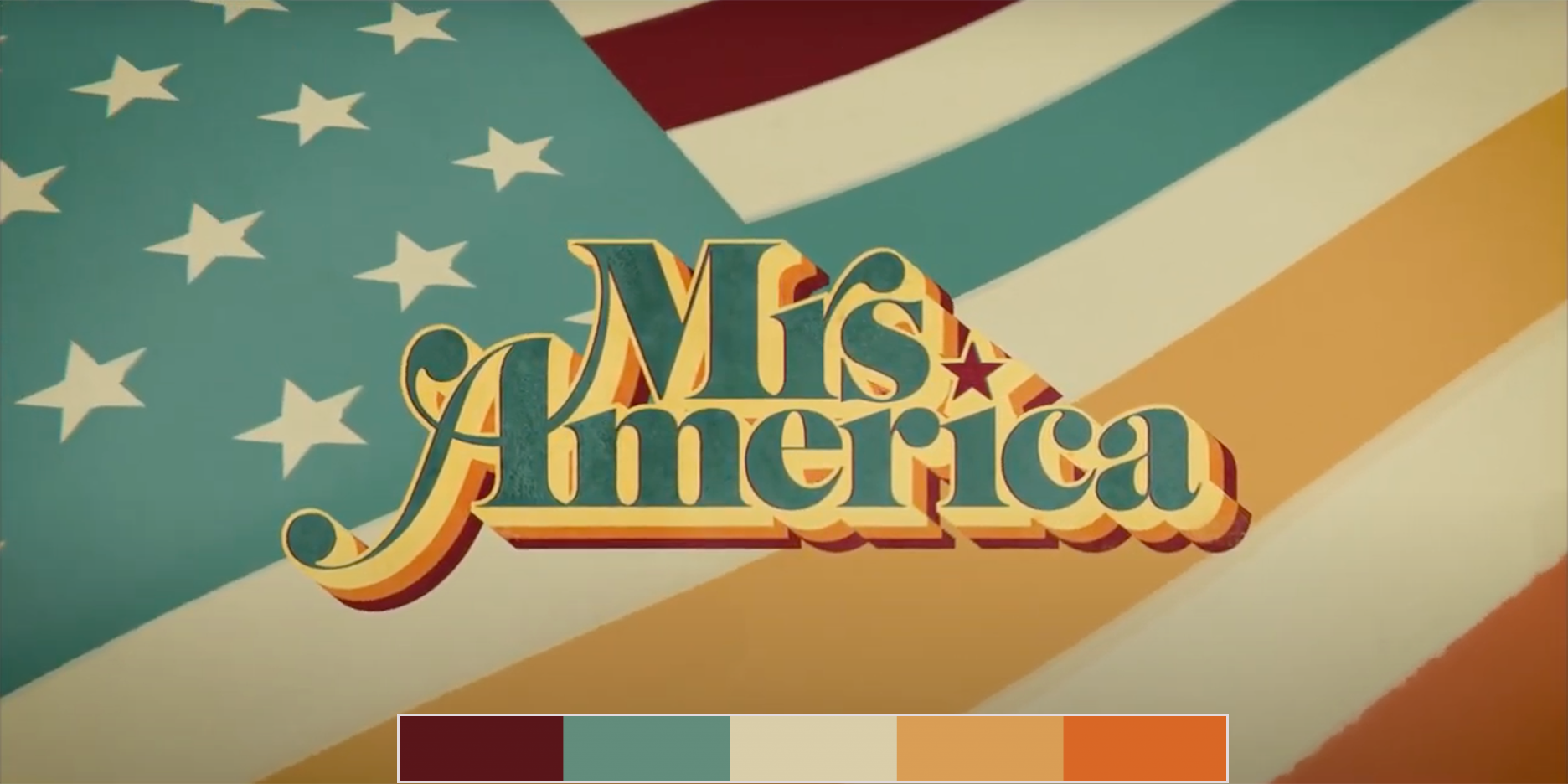 Mrs. America, paleta de color
