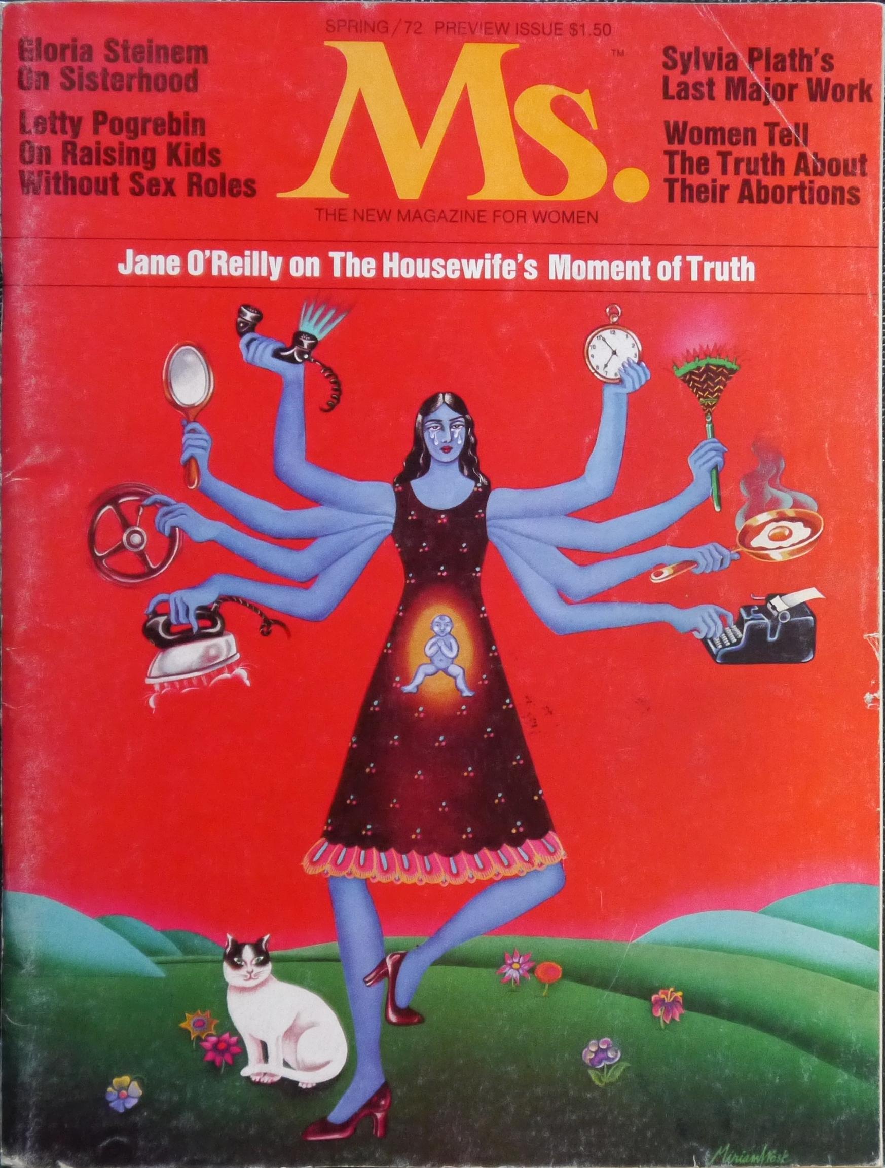 Ms. Magazine, portada primavera 1972