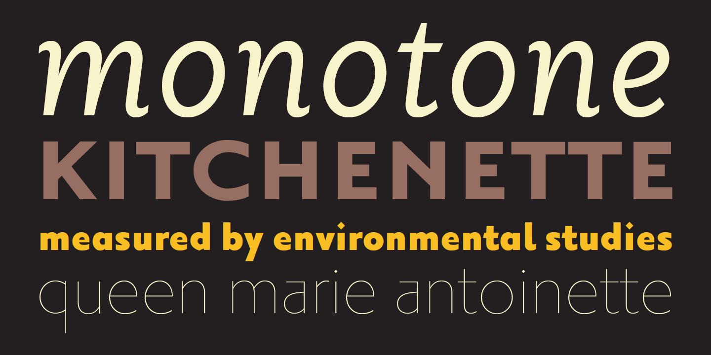 Tipografía Priori, Diseñada por Jonathan Barnbrook en 2003