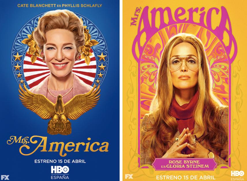 Mrs. America: Cate Blanchett (Phyllis Schlafly) Rose Byrne (Gloria Steinem)