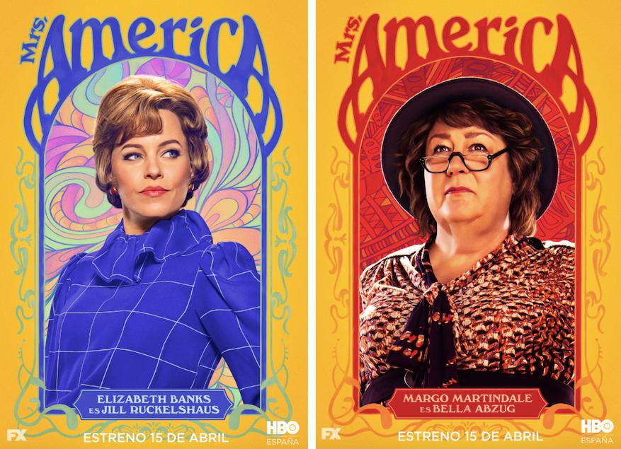 Mrs. America: Elizabeth Banks y Margo Martindale
