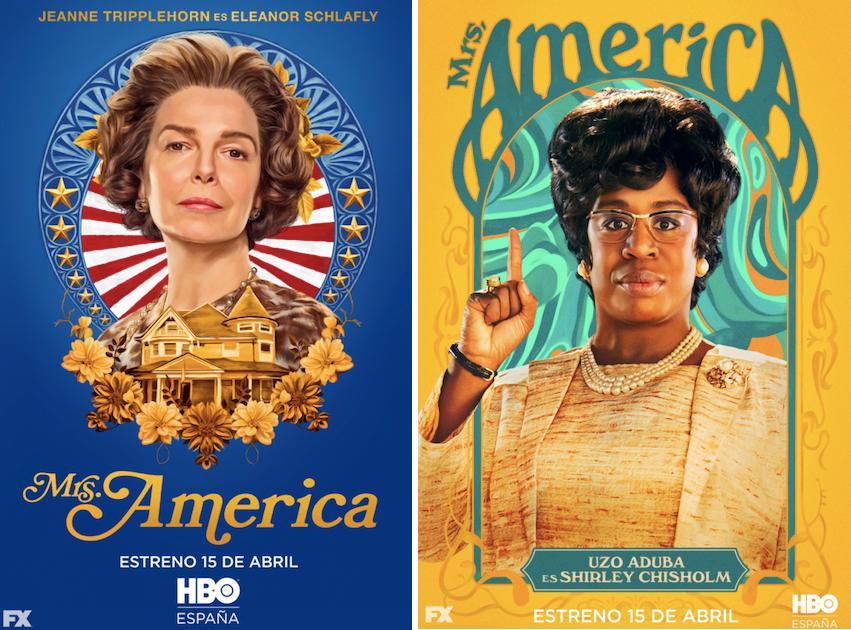 Mrs. America: Jeanne Tripplehorn (Eleanor Schlafly) Uzo Aduba (Shirley Chisholm)