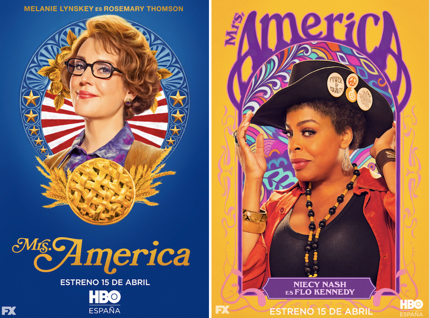 Mrs. America: Melanie Lynskey (Rosemary Thompson) Niecy Nash (Flo Kennedy)