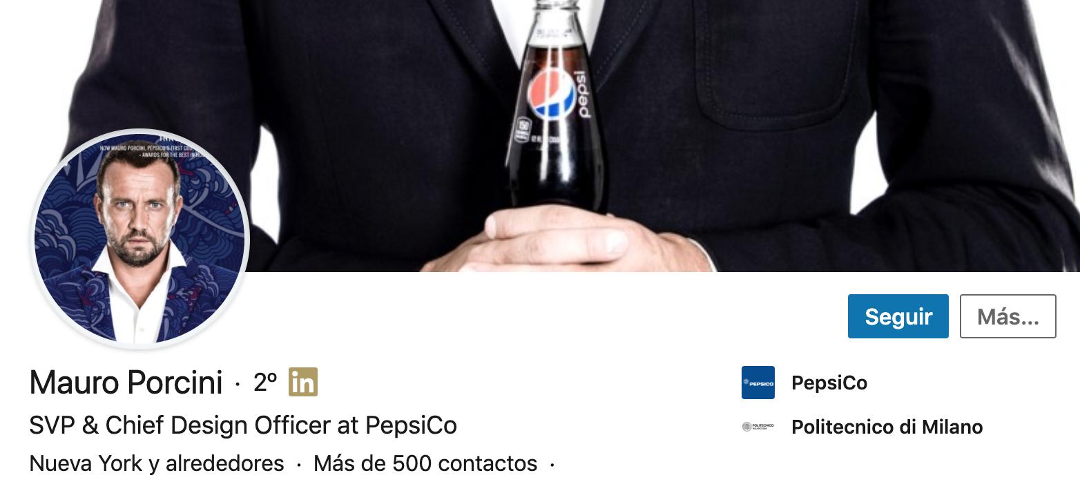 Perfil de Mauro Porcini en LinkedIn