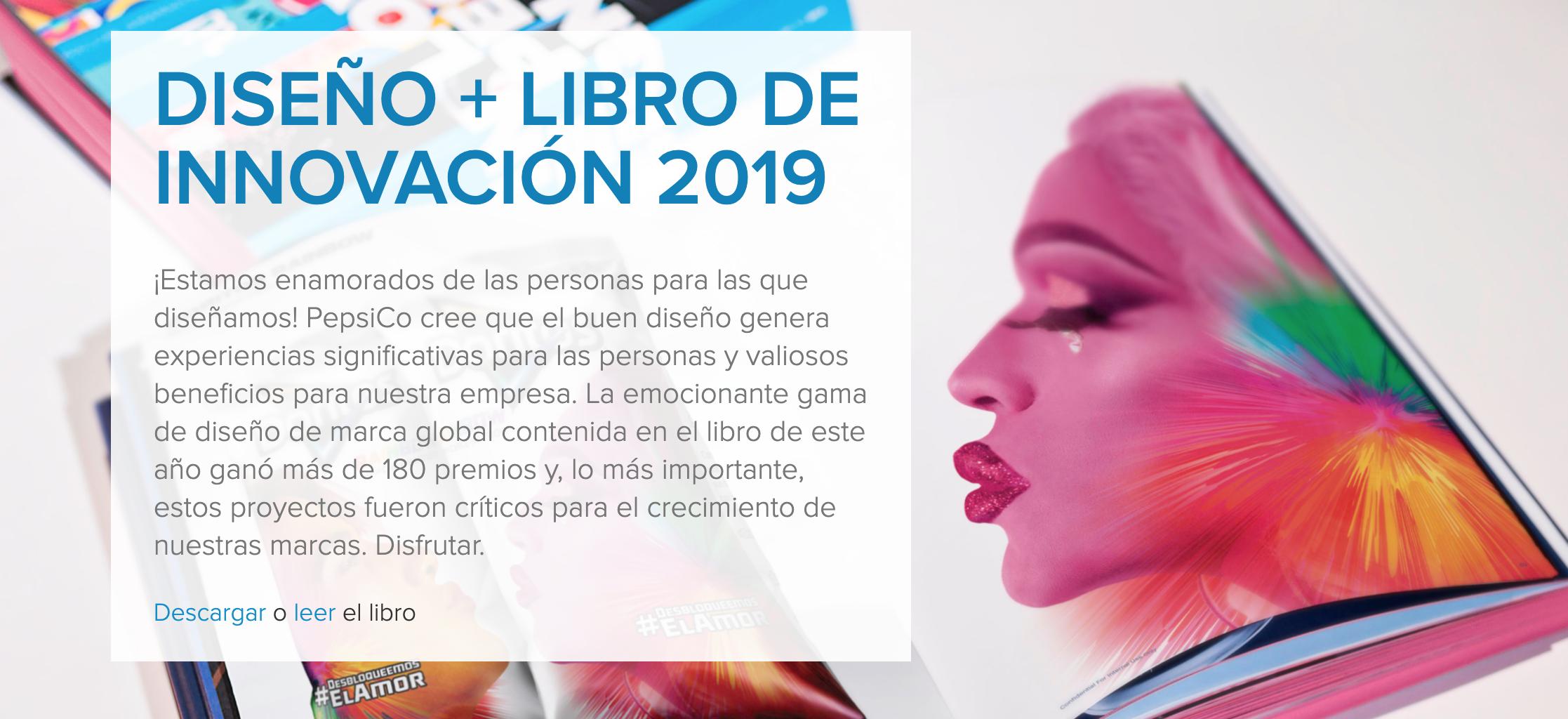 DISEÑO + LIBRO DE INNOVACIÓN 2019