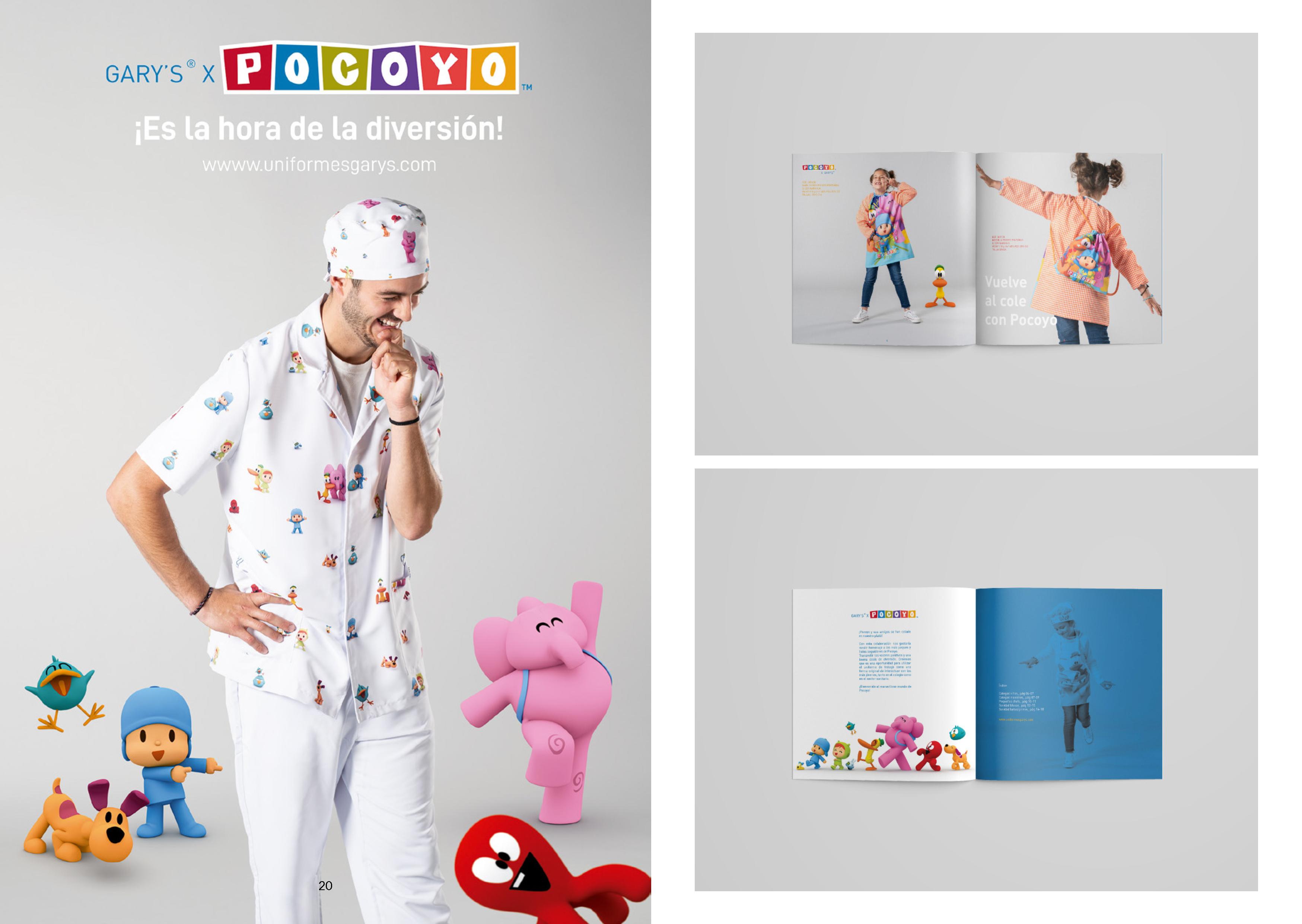 GarysxPocoyoDiseño de catálogo y publicidad