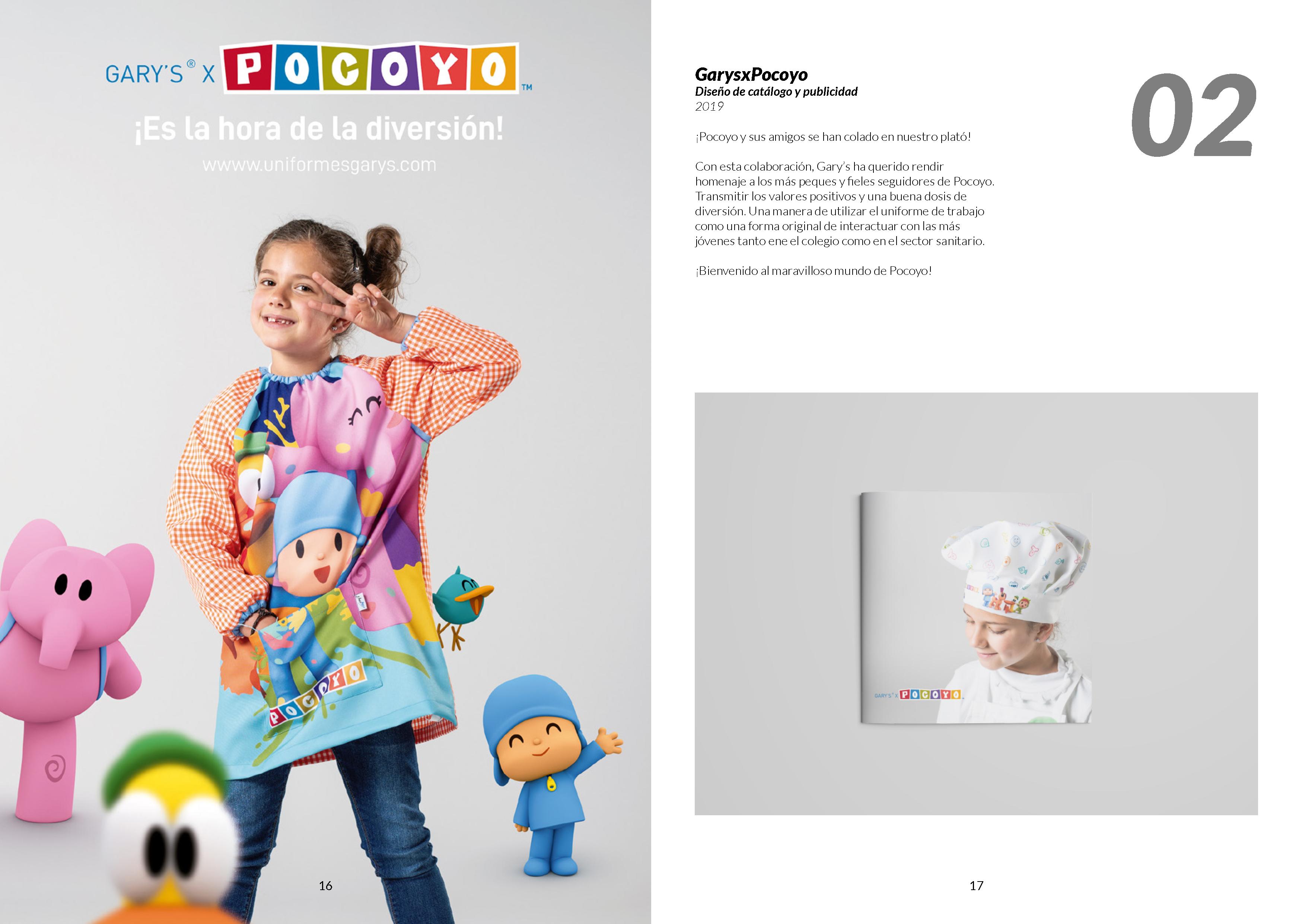 GarysxPocoyo Diseño de catálogo y publicidad