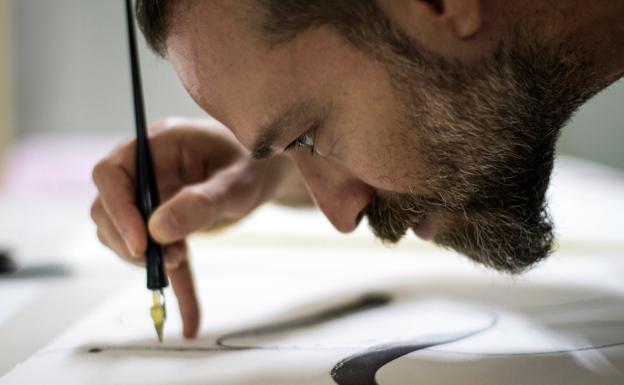 José María Passalacqua, calígrafo
