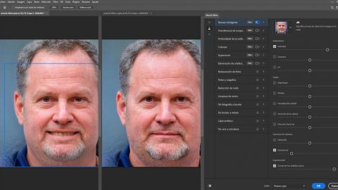 Neural Filters la novedad con IA de Photoshop