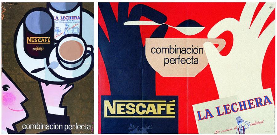 Publicidad Nescafé, La lechera, 1962