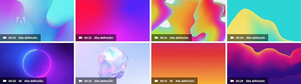Tendencia uso de degradados, Adobe