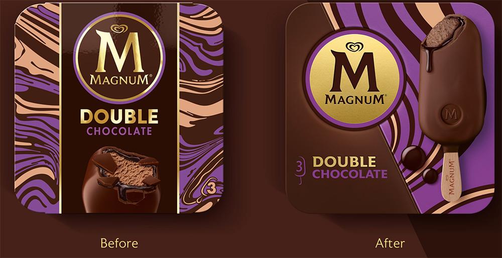 Cambios en el embalaje de la variedad doble chocolate