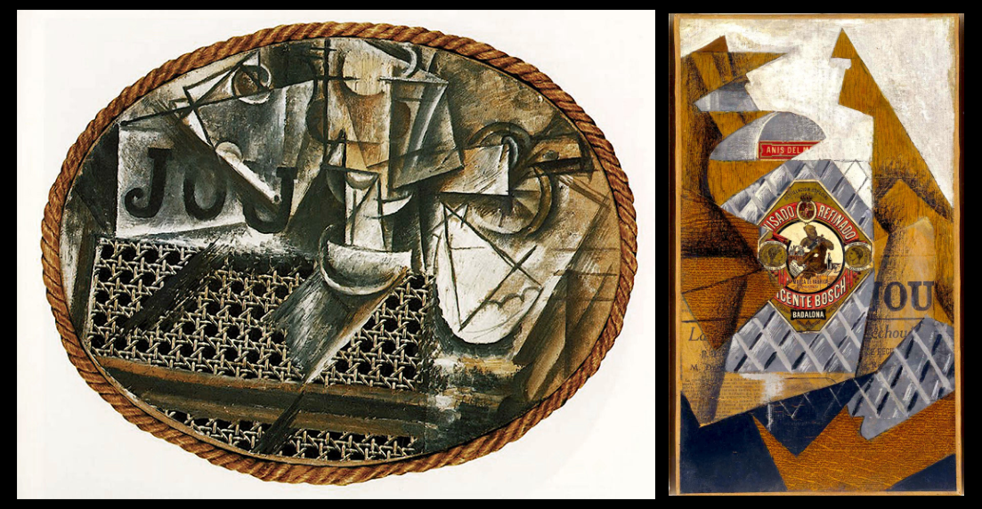 Collage de Picasso y Juan Gris